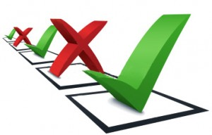 Does It Make Sense to Use Checklists?